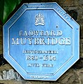 Eadweard Muybridge blue plaque, Park House, Kingston.jpg