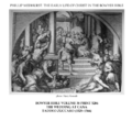 Early life of Christ in the Bowyer Bible print 18 of 21. wedding at Cana. Zuccaro.png