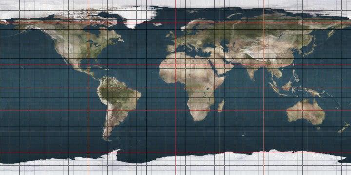 Earthmap720x360 grid