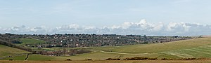 East Dean and Friston - Image: East Dean and Friston, East Sussex, England April 2010 edit 1