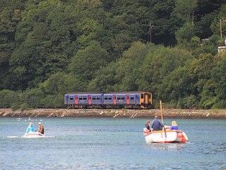 Looe Valley Line community railway from Liskeard to Looe in Cornwall, United Kingdom
