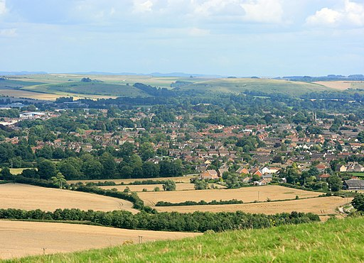 East from Cley Hill - geograph.org.uk - 934513