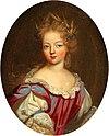 Ecole Française portrait presumed to be Françoise Marie de Bourbon, Mademoiselle de Blois.jpg