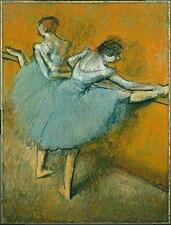 Edgar Degas - Dancers at the Barre - Google Art Project.jpg