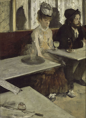 "Degas, ""L'Absinthe"""