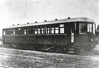 NZR RM class (Edison battery-electric) class of 1 battery-electric railcar