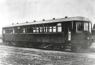 Locomotives of New Zealand - Edison battery-electric railcar