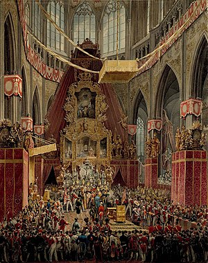 Coronations in Europe - Coronation of King Ferdinand V of Bohemia in 1836