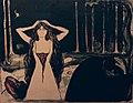 Edvard Munch. Ashes II (Aske II). 1899 (25075588815).jpg