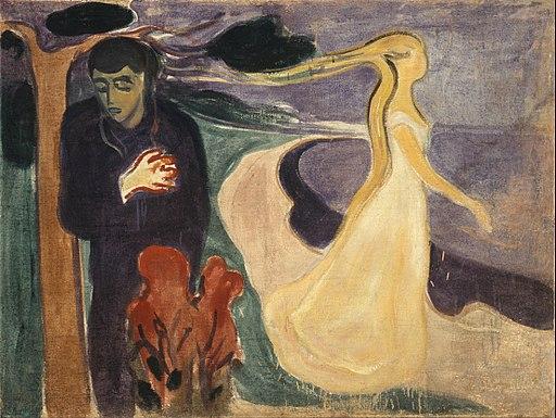 Edvard Munch - Separation - Google Art Project