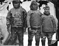 Edward Augustus Inglefield Inuit men and woman 1854.jpg