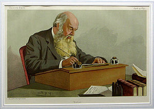Edward Caird - Caird as caricatured by Spy (Leslie Ward) in Vanity Fair, April 1895.