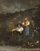 Edward Mitchell Bannister - Repose - 1983.95.68 - Smithsonian American Art Museum.jpg
