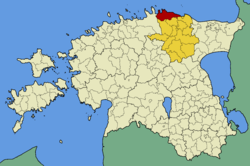 Vihula Parish within Lääne-Viru County.
