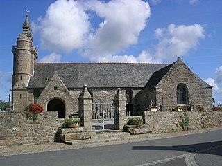 Coatréven Commune in Brittany, France