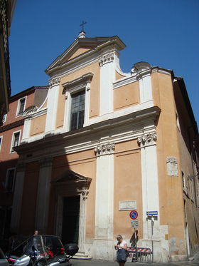 Image illustrative de l'article Église Santa Rita da Cascia alle Vergini