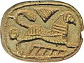 Egyptian - Plaque with Sphinx and Duck - Walters 42982 (2).jpg