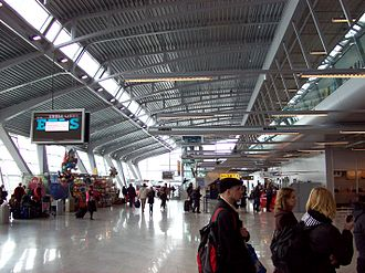 Eindhoven Airport - Check-in area at Eindhoven Airport