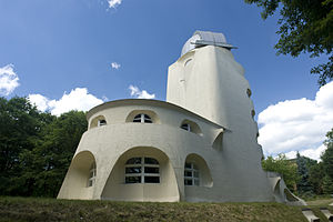 Einstein Tower - A rear view of Mendelsohn's Einsteinturm