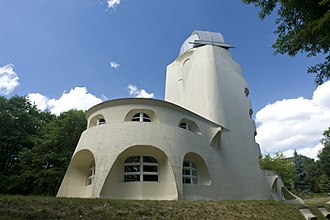 Einstein Tower - A rear view of Erich Mendelsohn's Einstein Tower