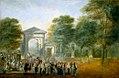 El Jardín Botánico desde el Paseo del Prado.jpg
