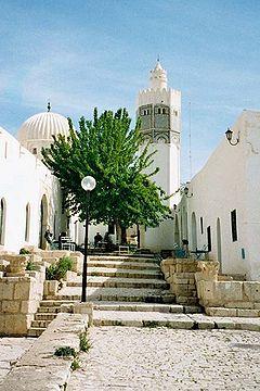 Uma mesquita em El Kef