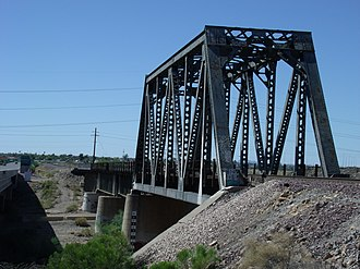 El Mirage, Arizona - Image: El Mirage Agua Fria River Bridge 1895 1