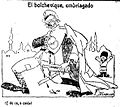 El bolchevique, embriagado, de Tovar, La Voz, 10 de marzo de 1921.jpg
