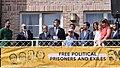 El president Puigdemont durant la seva intervenció a l'acte de benvinguda.jpg
