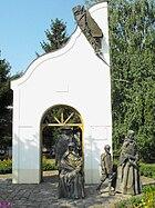 A kitelepített németek emlékműve Eleken