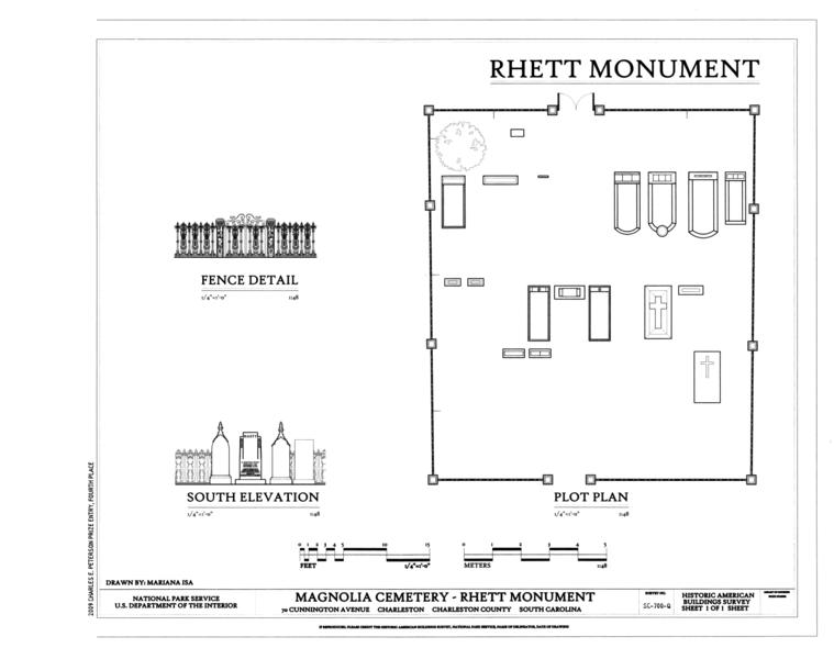 File elevation plot plan and fence detail magnolia for Find plot plan online