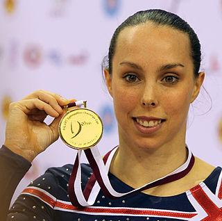 Beth Tweddle British artistic gymnast
