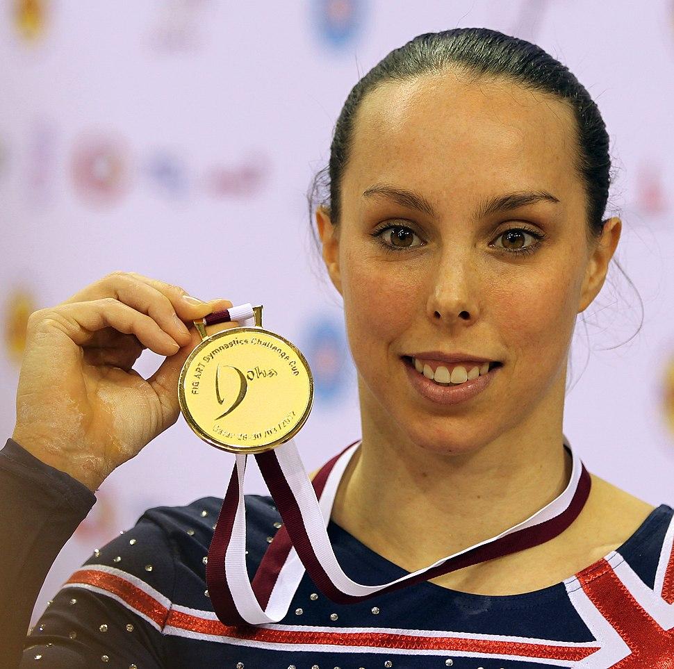 Elizabeth Tweddle FIG 2012