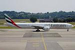 Emirates, A6-EGJ, Boeing 777-31H ER (19047655344).jpg