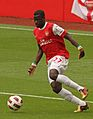 Emmanuel Eboué & Pato Emirates Cup 2010.jpg