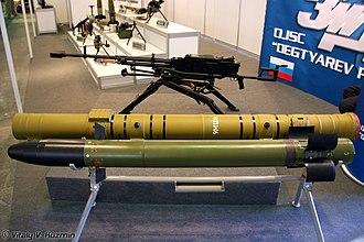 9M120 Ataka - 9M120 missile with tandem HEAT warhead