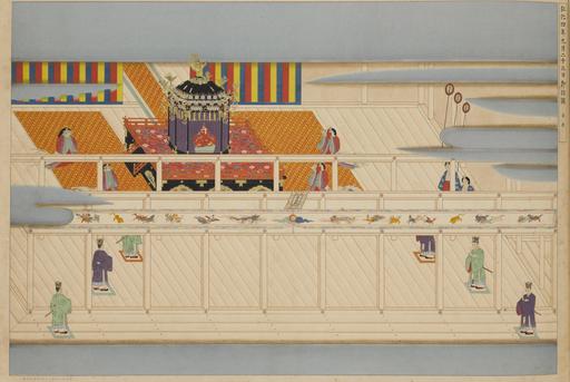 Enthronement Ceremony of Emperor Kōmei