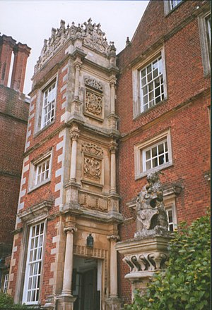 Burton Agnes Hall - The entrance to the Porch