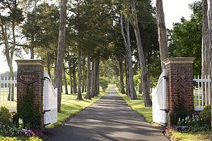Castle Hill (Virginia) - Entrance to Castle Hill