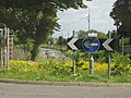 Entrance to Mearnskirk Hospital (to the left) - geograph.org.uk - 17347.jpg