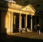 South colonnade at Grand Pump Room