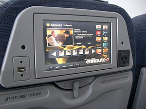 Sky Regional Airlines - Inflight Entertainment on board an E175 aircraft (enRoute)
