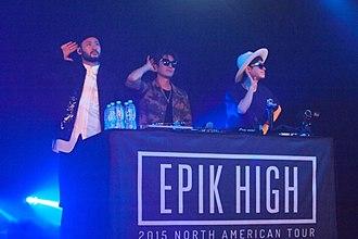 Epik High - Image: Epik High 061215 036 (18151992384)