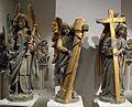 Erhart Küng, statue dal portale del giudizio universale della cattedrale di berna, 1460-83 ca. 05.JPG