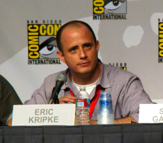 Eric Kripke - Eric Kripke at the 2010 San Diego Comic-Con Supernatural panel