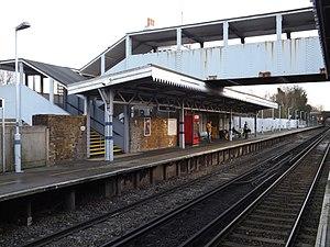 Erith railway station - Image: Erith railway station, December 2014 i 06