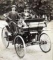 Ernest Archdeacon en 1894 sur Peugeot type 3.jpg