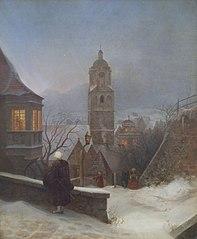 Stille Weihnacht (Meißen im Winter; Christnacht)