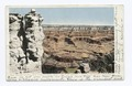 Eroded Column, O'Neill's Point, Grand Canyon, Ariz (NYPL b12647398-62576).tiff