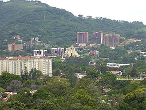 Escazú (canton) - Skyline of Escazu City.